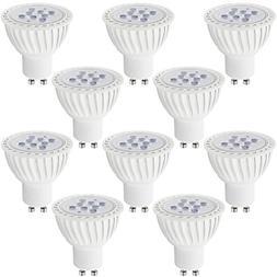 10 PACK #Dimmable# MR16 GU10 LED Light Bulb, 7W , 5000K Dayl