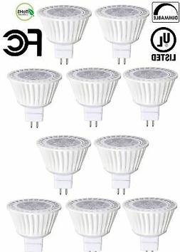 10 Pack Bioluz LED MR16 LED Bulb 50W Halogen Replacement Dim