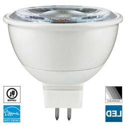 Sunlite MR16 LED Bulb, 12V, 7 Watt, 2700K, GU5.3 Base, Dimma