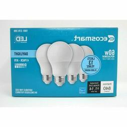 new 4 ecosmart 60w equivalent a19 dimmable