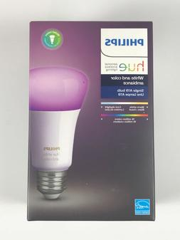 NEW Philips HUE White and Color Ambiance Bulb