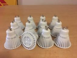 New TCP LED GU 10 Dimmable MR16 Bulb 2700k 7W - 12 pack - LE