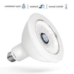 Outdoor Motion Sensor Light Bulb Socket LED Indoor Pir Infra