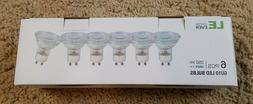 "Package Of ""6"" LE Lighting Ever GU10 LED Bulbs 5000K NEW! L@"