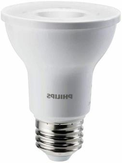Philips PAR20 LED Light Bulb Bright White Glass