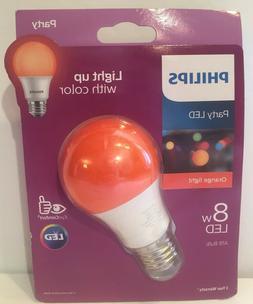 Philips LED Light Bulb 8w A19