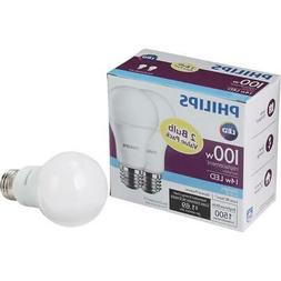 Philips 100W Equivalent Daylight LED Light Bulb