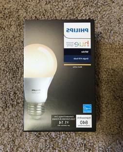 Philips Smart Wireless Single Bulb Hue A19 LED 60-W Equivale