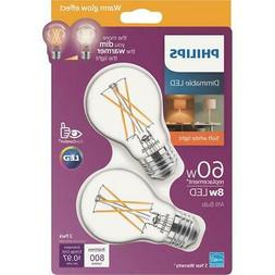 Philips Warm Glow A19 Medium Dimmable LED Light Bulb 536532