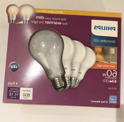 phillips dimmable a19 light bulb