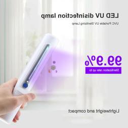 Portable Handheld LED UV Light Bulb Disinfection Lamp UVC St