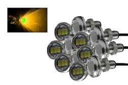 Annisking 12Pcs 10W High Power Eagle Eye LED Lampt Eagle Eye