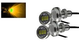 Annisking 4Pcs 10W High Power Eagle Eye LED Lampt Eagle Eye