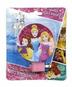 Disney Princess LED Night Light  New With Bulb Included