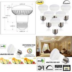 WELLHOME R16 LED E26 Base Bulb Dimmable,5 Watt LED Bulb Equi