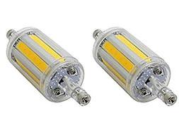 CTKcom R7S 78mm COB LED Bulbs- J Type 78mm Double Ended 8W 6