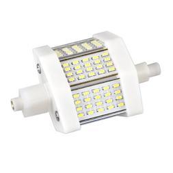 Ecloud ShopUS R7s 60 3014 SMD White LED Light Lamp Bulb 6W 7