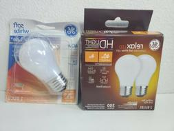 GE Relax LED Comfortable Soft White Warm Light LED A15 + 1 A