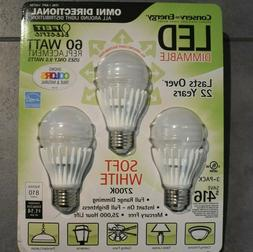 Feit Electric LED 60 Watt Replacement Light Bulbs