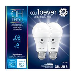 GE Lighting Reveal HD LED 9-watt , 650-Lumen A19 Light Bulb
