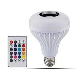 JahyShow LED RGB Color Bulb Light E27 Bluetooth Control Smar