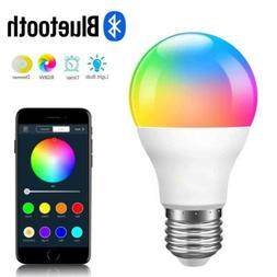 rgbw bluetooth led light bulb color changing