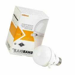 Sunlite ShabBulb, Shabbat Permissible LED Light Bulb, 7 Watt