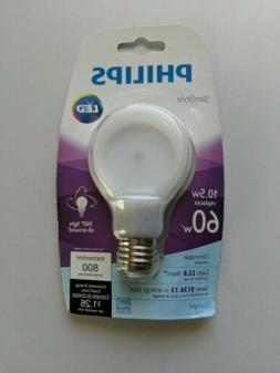 Philips SlimStyle 10.5-watt Daylight LED  Light Bulb, Dimmab