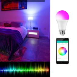 Smart LED Light Bulb RGBW Color Changing iLUX Bluetooth APP
