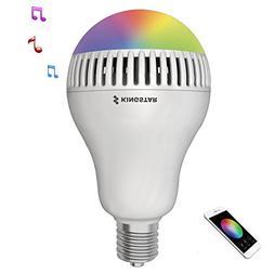 Kingstar Smart RGB Color Changing Music Ball LED Light E26 /