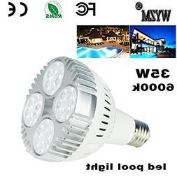 120V 65W White Color LED Pool Light Bulb, Fit in for Pentair