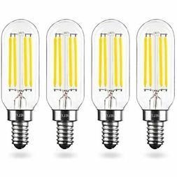 T8 Dimmable  LED Bulb, E12 Small Base, 4-Watt Tubular Candel