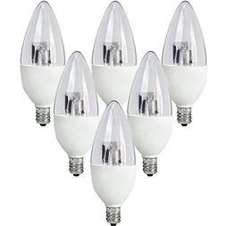 TCP LED Torpedo Shaped, Candelabra Based Light Bulbs, 40 Wat