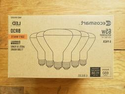TWO  6 PK EcoSmart 65-Watt Equivalent BR30 Dimmable LED Ligh