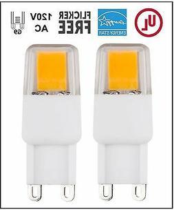 CBConcept UL-Listed, G9 LED Light Bulb, 10-Pack, 3 Watt, 310