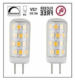 CBConcept UL-Listed, G4 LED Light Bulb, 2-Pack, 3 Watt, Dimm