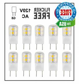 CBConcept UL-Listed, G8 LED Light Bulb , 10-Pack, 2...