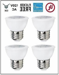 CBConcept UL-Listed PAR16 LED Bulb,4-Pack,6 Watt,550 lm,Warm
