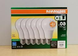 SYLVANIA Ultra 6-Pack 60 W Equivalent Dimmable Soft White A1