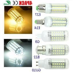 US 4 PACK LED Light Corn Bulb Cool White Warm White LED Lamp