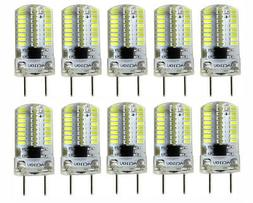US Shipping 10x G8 G8.5 T5 Led bulb Dimmable 64-3014SMD Sili