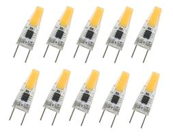 10pcs G8 G8.5 Led Bulb Puck light COB 1505 LED Cabinet Light