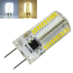 10pcs G8 LED Light Bulb Dimmable 110V 3W 80-3014 SMD Warm/Wh