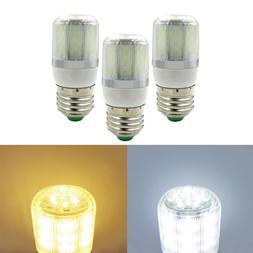 USA Shipping 3x E27 LED Light Corn Bulb 4W 78Led AC12V/DC12-