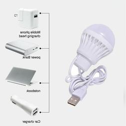 USB Bulb 5V Low-voltage Light Led Energy-saving Rechargeable