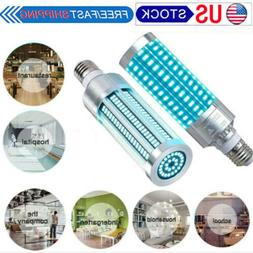 UV Germici-dal Lamp LED UVC Bulb E27 Ozone Disin-fection Lig
