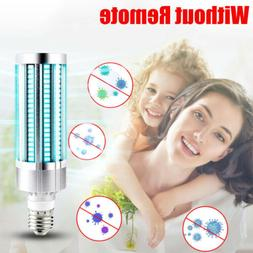 UV Germicidal Lamp LED UVC Bulb E27 Household Ozone Disinfec
