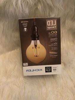 Kichler Vintage Collection 60-Watt Amber White G25 LED Bulb