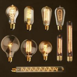 Vintage Industrial Retro Edison LED Bulb Light Lamp E27 220V
