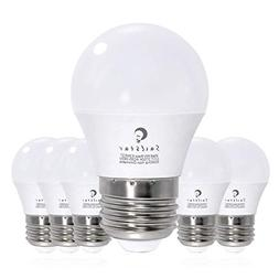 Sailstar 6-Watt 2700K Warm White LED A15 Light Bulb, E26 Med